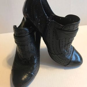 BCB BOOTS UNKLE BLACK LEATHER